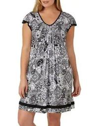 Plus Yours to Love Short Sleeve Chemise