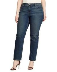 Plus Plus Size Superstretch Straight Jeans