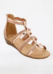Sole Lift Wide Width Strappy Sandal