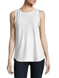 Plus Textured Sleeveless Tank