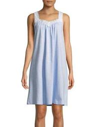Plus Striped Nightgown