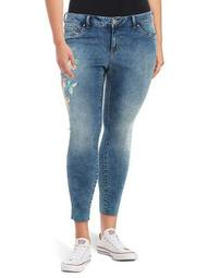 Plus Kiss Me Skinny Ankle Jean