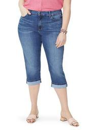 Plus Marilyn Cropped Jeans
