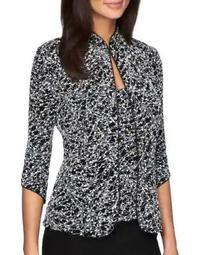 Plus Two-Piece Embellished Jacquard Jacket and Tank Top Set