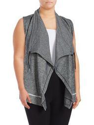 Plus Flyaway Sweatshirt Vest