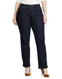 Plus Plus Size Slimming Modern Curvy Jeans