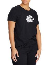 Plus Logo Cotton Jersey Tee