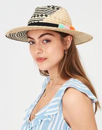 AEO Pattern Weave Panama Hat