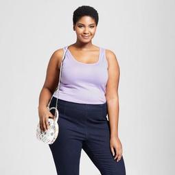 Women's Plus Size Perfect Tank - Ava & Viv™ Lavender