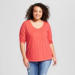 Women's Plus Size 3/4 Sleeve T-Shirt - Ava & Viv™