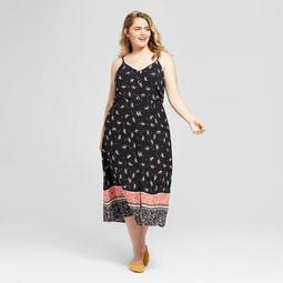 Xhilaration™ Women\'s Plus Size Floral Print Sleeveless Maxi Dress -  Xhilaration™ - On Sale for $24.49 (regular price: $34.99)