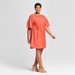 Ava Viv Womens Plus Size Crochet A Line Dress Ava