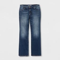 Women's Plus Size Adaptive Bootcut Jeans - Universal Thread™ Dark Wash