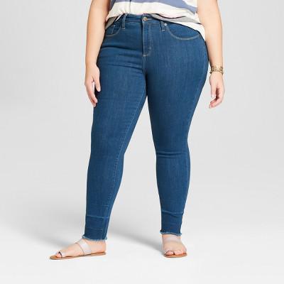 b56497da163 Universal Thread™ Women s Plus Size Released Hem Skinny Jeans -