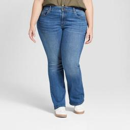 Women's Plus Size Skinny Bootcut Jeans - Universal Thread™ Medium Wash