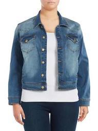 Plus Anaya Denim Jacket