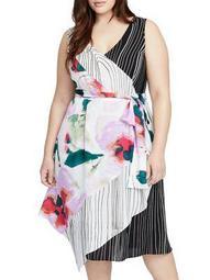 Plus Amalfi Wrap Dress