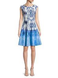Graphic Sleeveless Dress