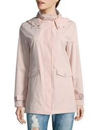 Plus Bonded Hooded Jacket