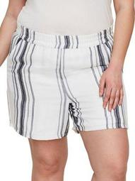 Plus 318 Manina Striped Shorts