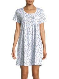 Plus Butterfly Pintuck Sleepshirt
