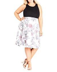 Plus Affair Sleeveless Dress