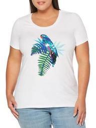 Plus Parrot-Print Tee
