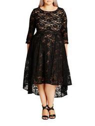 Plus Lace Lover Dress