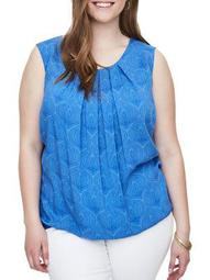 Plus Nieves Wresta Sleeveless Blouse