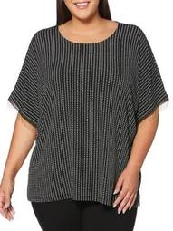 Plus Dolman Sleeve Top