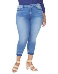 Plus Alina Wide Release Ankle Jeans