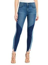 Plus Frayed Skinny Jeans