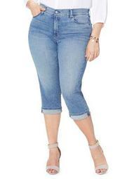 Plus Marilyn Crop Cuff Jean