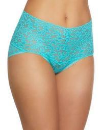 Plus Retro Lace V-Kini Panty