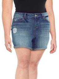 Plus Forever Roll-Cuff Shorts