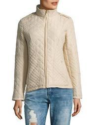 Plus Quilt Moto Jacket