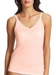 Pure Cotton Thin Strap V Neck Camisole