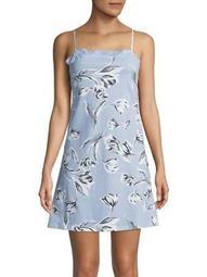 Plus Floral Lace Cotton Chemise