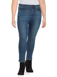 Plus High-Rise Skinny-Fit Jeans