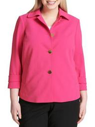 Plus Plus Quarter-Sleeve Jacket