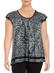 Plus Yours to Love Short Sleeve Top