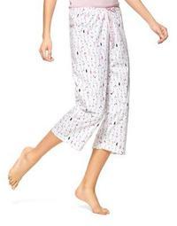 Plus Printed Pajama Pants