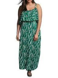 Plus 318 Duena Sleeveless Maxi Dress