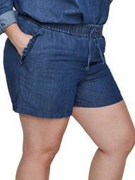 Plus Allegra Shorts