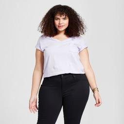 7a7da2e6f6 Universal Thread™ Women s Plus Size Monterey Pocket V-Neck Short