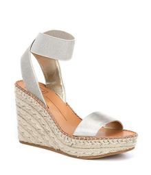Dolce Vita Pavlin Leather Espadrille Wedge Sandals