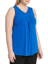 Plus Plus Classic Sleeveless Top