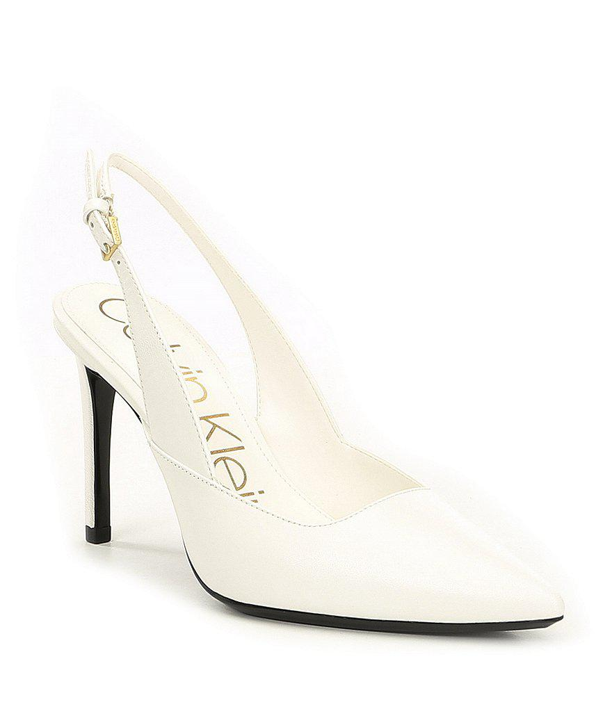 6149149a115 Calvin Klein Rielle Slingback Dress Pumps