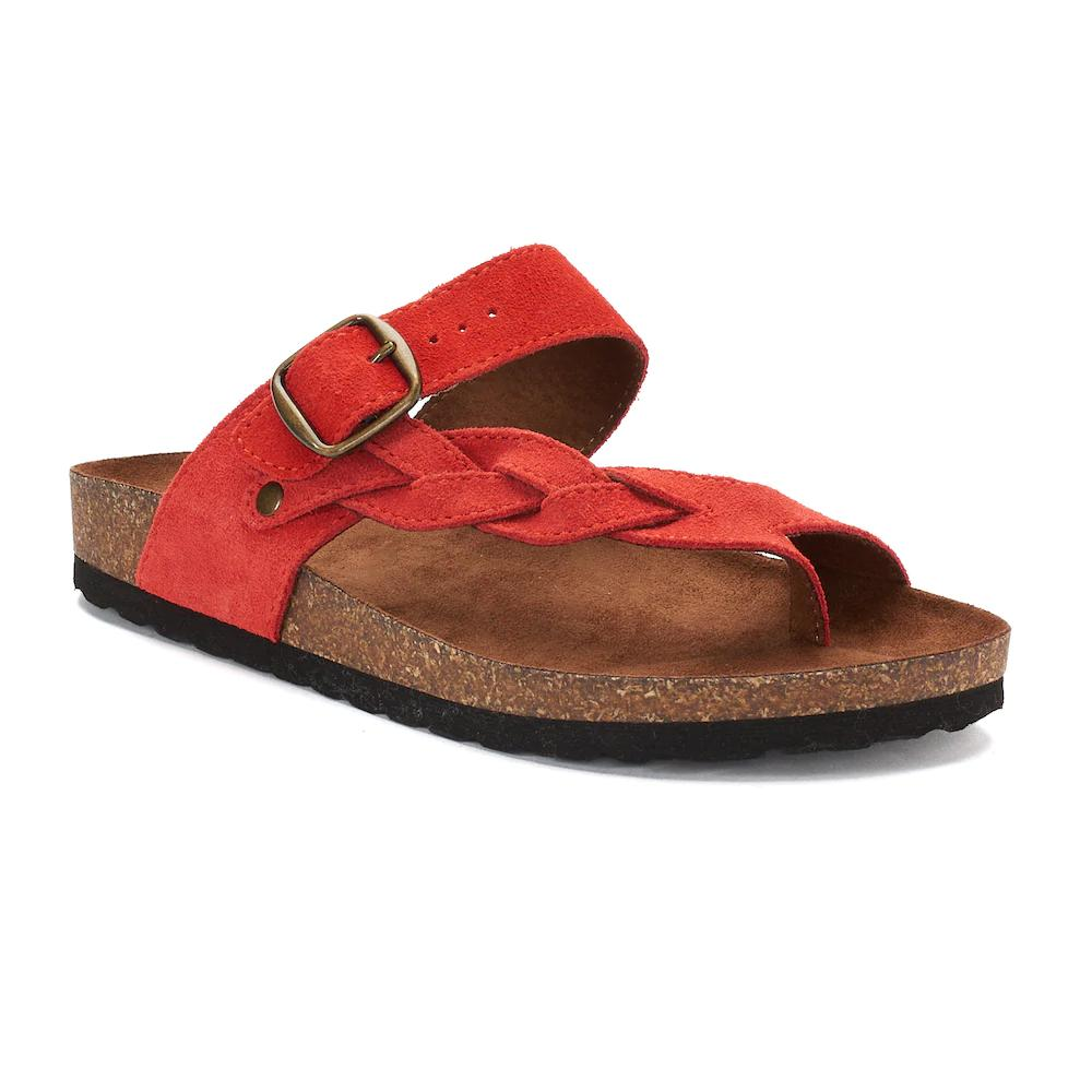 ee84c2dc978d Kohls SONOMA Goods for Life™ Maurine Women s Leather Sandals