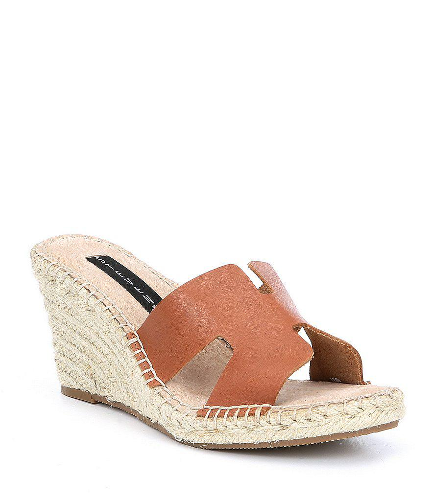 0ec96ad08df Steven by Steve Madden Eryk Leather Espadrille Wedges